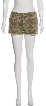 Current/Elliott Camouflage Short Shorts w/ Tags
