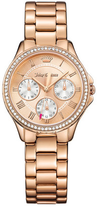 Juicy Couture Women's Gwen Crystal Bracelet Watch $275 thestylecure.com