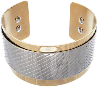 FINE JEWELRY 18K Gold Ion-Plated Stainless Steel Cuff Bracelet