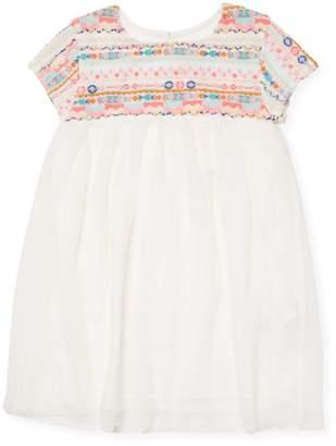 Billieblush Beads & Embroidery Dress