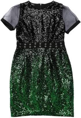 Diesel Gradient Sequined Tulle Dress