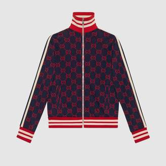 Gucci GG jacquard cotton jacket