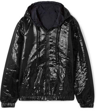 Tomas Maier Reversible Quilted Shell Hooded Jacket - Black