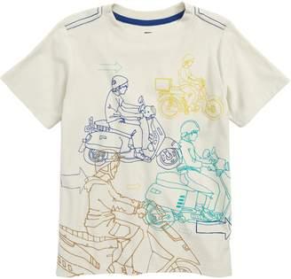 Tea Collection Moto Graphic T-Shirt