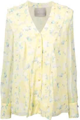 Jason Wu Collection floral blouse