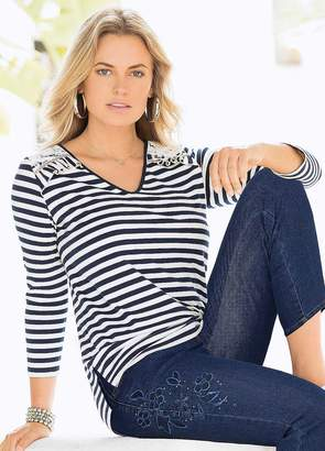 Together Striped Top