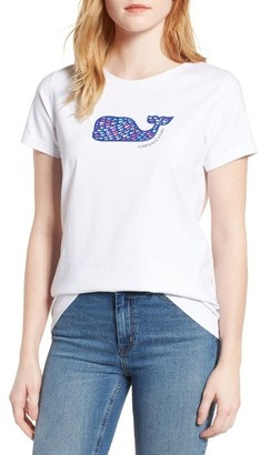 Women's Vineyard Vines School Of Whales Graphic Tee $49.50 thestylecure.com
