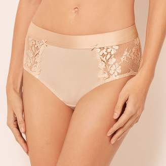 77823477469 Talbots Cotton Lace Brief Panty