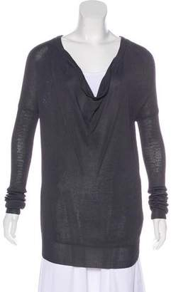 Helmut Lang Knit High-Low Sweater
