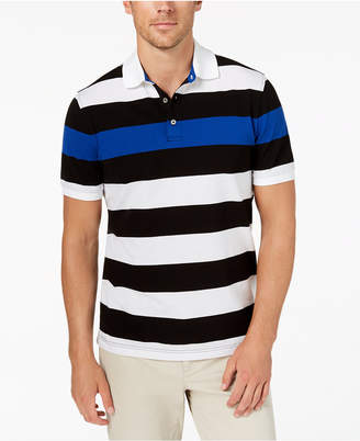 Club Room Men's Colorblocked Polo, Created for Macy's