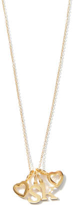 Sarah Chloe Love Count Multi Heart Necklace