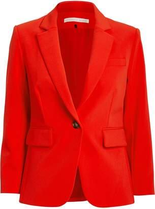 Veronica Beard Scuba Schoolboy Red Blazer
