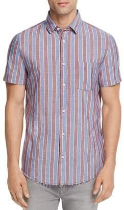 Sovereign Code Port Striped Regular Fit Button-Down Shirt