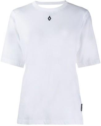 Marcelo Burlon County of Milan open back logo T-shirt