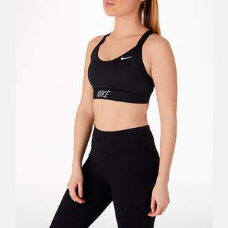 Nike Women's Pro Indy Logo Back Sports Bra