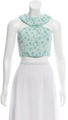Charlotte Ronson Floral Sleeveless Top