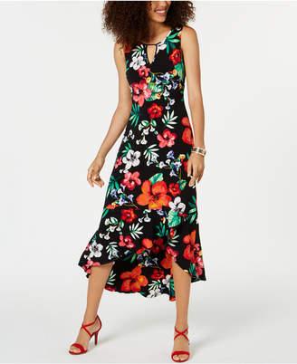 a570d93eae5 Thalia Sodi Flounce-Hem Maxi Dress