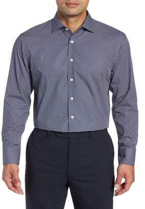 John W. Nordstrom R) Traditional Fit Floral Dress Shirt