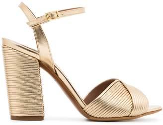 193c0f846721 Tabitha Simmons metallic gold kali champagne 100 leather sandals