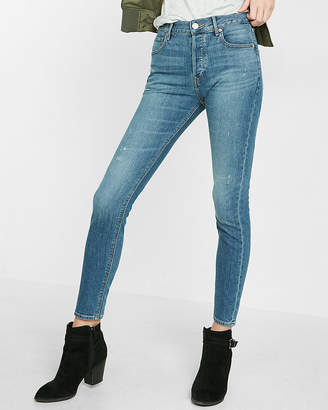 Express High Waisted Vintage Skinny Ankle Jean