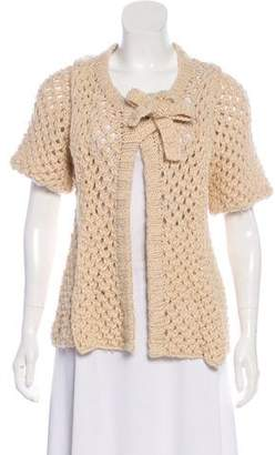 Mayle Wool Knit Cardigan