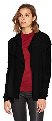 BOSS Women's Wijay 10201056 01 Cardigan, (Black 001), Medium