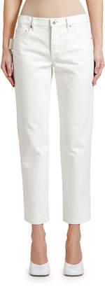 Bottega Veneta Low-Rise Cropped Jeans