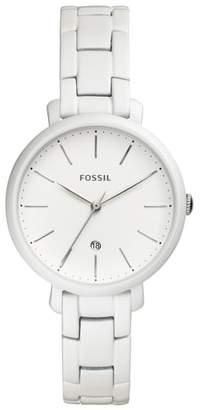 Fossil Jacqueline Bracelet Watch, 36mm