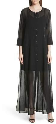 Theory Cotton Maxi Dress