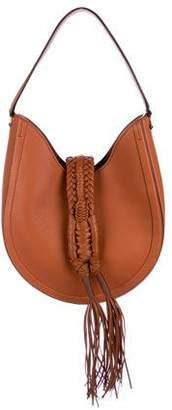 Altuzarra Leather Ghianda Knot Hobo