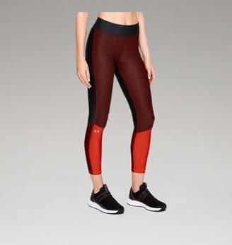 Under Armour HeatGear® Armour Jacquard Ankle Crop