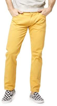 Todd Snyder 5-Pocket Garment-Dyed Stretch Twill in Mustard