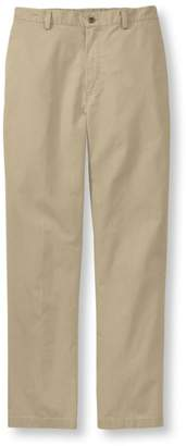 L.L. Bean L.L.Bean Men's Tropic-Weight Chino Pants, Comfort Waist Plain Front