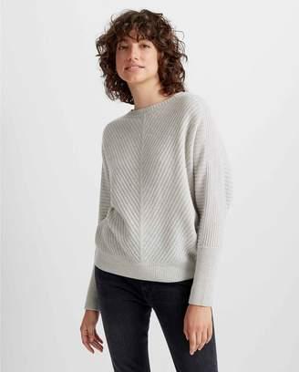 Club Monaco Multi-Ribbed Cashmere Sweater