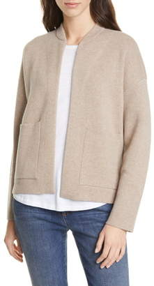 Eileen Fisher Flight Recycled Cashmere Blend Cardigan