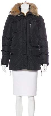 Parajumpers Fur-Lined Down Jacket