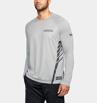 Under Armour Men's NBA Combine UA Pinnacle Long Sleeve T-Shirt