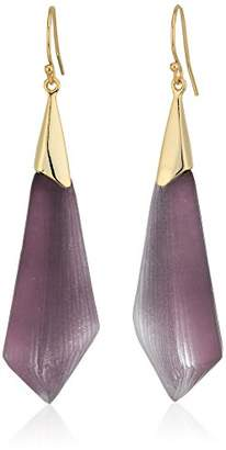 Alexis Bittar Faceted Wire Drop Earrings