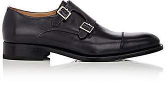 Harris Men's Double-Monk-Strap Shoes - Black