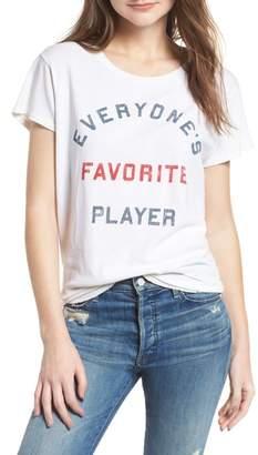Junk Food Clothing Everyone's Favorite Player Tee