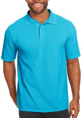Hanes Short Sleeve Pique Polo Shirt
