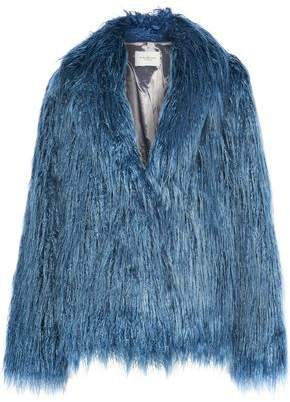 Halston Faux Fur Jacket