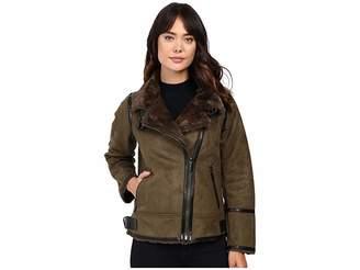 MICHAEL Michael Kors Faux Shearling M52731T Women's Coat