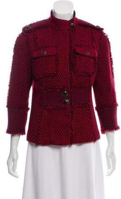 Tory Burch Knit Fringe Jacket
