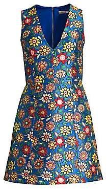 Alice + Olivia Women's Patty Seamed A-Line Dress - Size 0