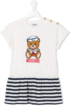 Moschino Kids Toy Teddy sailor dress