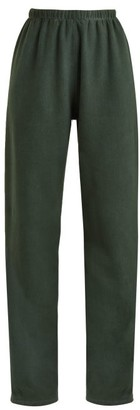 Vetements Hem Hole Track Pants - Womens - Dark Green