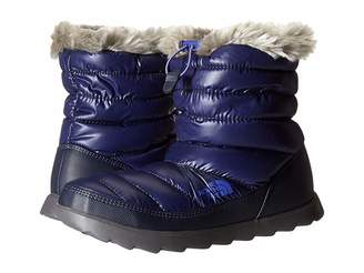 The North Face ThermoBalltm Micro-Baffle Bootie (Shiny Astral Aura Blue/Blue Iris