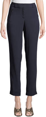 Karl Lagerfeld Paris Zip-Pocket Skinny Leg Pants