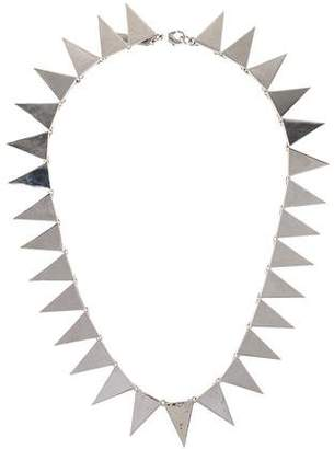 Eddie Borgo Flat Triangle Collar Necklace